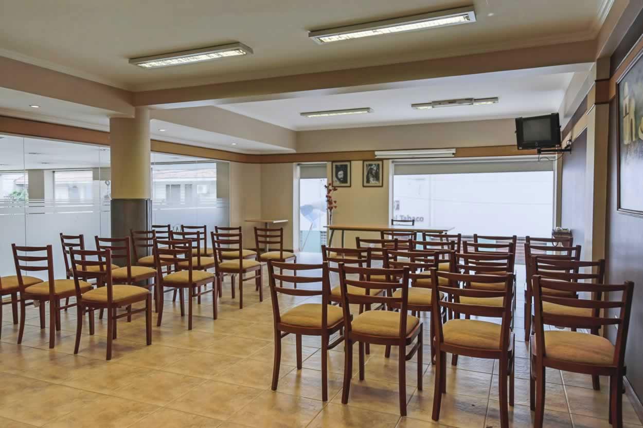 Reuniones y eventos en nuestros propios salones